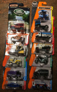 COLLECTABLE TOYS 12 ASSORTED MATCH BOX VEHICLES