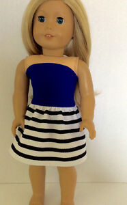 18 inch doll dress will fit American Girl or similar St. John's Newfoundland image 3