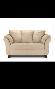 Comfy loveseat couch