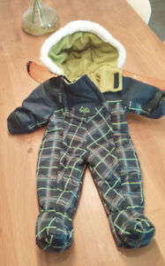 Habit de neige White Summit GUSTi, Gusti Snowsuit - Size 9 month