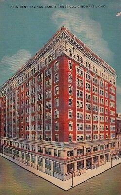 Postcard Provident Savings Bank   Trust Co Cincinnati Oh
