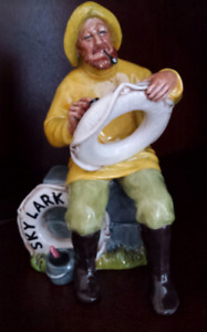 "ROYAL DOULTON NAUTICAL FIGURINE ""THE BOATMAN""-$80"