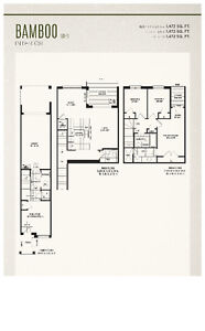 Pre-construction Townhouse in Markham! Unbeatable Price! 1 only!