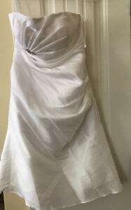 Above knee wedding dress - about a size 8