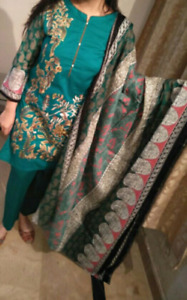 Indian-pakistani formal casual dresses for women