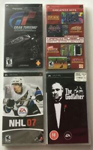 Godfather - Namco Museum, Gran Turismo 5, NHL 07