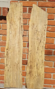 Spalted Maple boards, rough sawn
