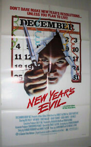 NEW YEAR'S EVIL MOVIE POSTER.