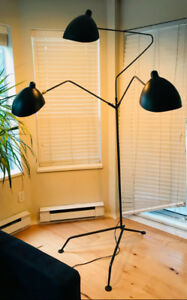 3 arm standing lamp - Mouille-style