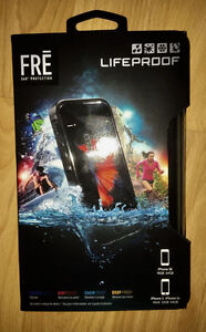 Black FRĒ Lifeproof Case for iPhone 5 / 5S / SE, New