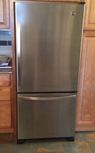 Stainless Steel Refrigerator - Excellent condition