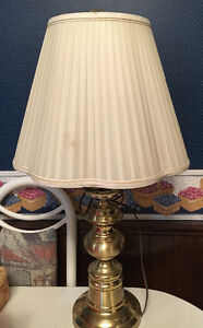 Floor lamp and 2 table lamps