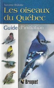 livre les oiseaux du Quebec guide d initiation
