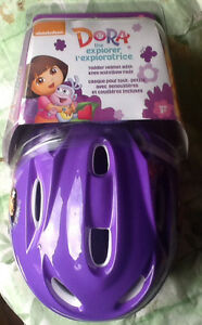 Dora the Explorer Toddler Bike Helmet with Knee and Elbow Pads
