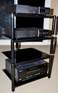 Target Audio 4-shelf rack