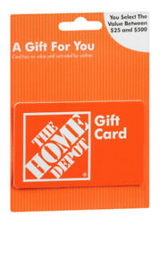 LOOKING FOR HOME DEPOT/LOWES/RONA GIFT CARDS