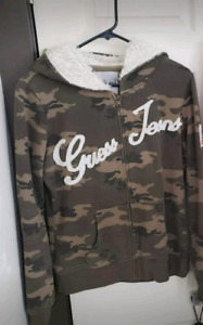$10 each Size LARGE Guess, sweater jackets hoodies