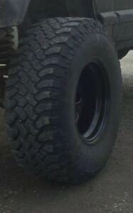 33x12.5 and 15 rim mud tires