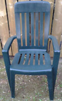 """The """"Pair of Patio Chairs"""" & """"Glass Patio Table""""  for sale"""