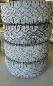 Set of 4 LT265/70R17 Goodyear Wrangler Duratrac 10PLY E rated