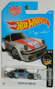 Hot Wheels 1/64 Porsche 934 Turbo RSR Magnus Walker Diecast