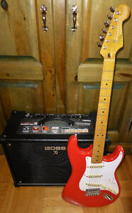 Stratocaster classic vibe with Fender Fat 50's loaded pickgaurd.