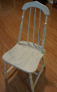 Shabby Chic Antique Chair