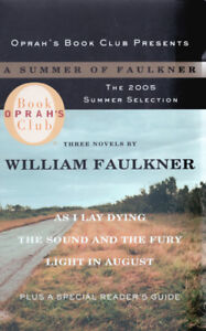 Oprah Book Club William Faulkner Set of 3 Boxed Book Collection