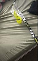 Box lacrosse stick