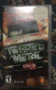 Twisted Metal Head-On PSP GAME with case