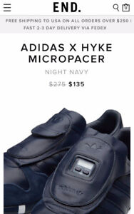 ADIDAS X HYKE MICROPACER Collection Running Shoes