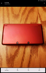Nintendo 3 DS in excellent condition with 50 + games and 10 movi