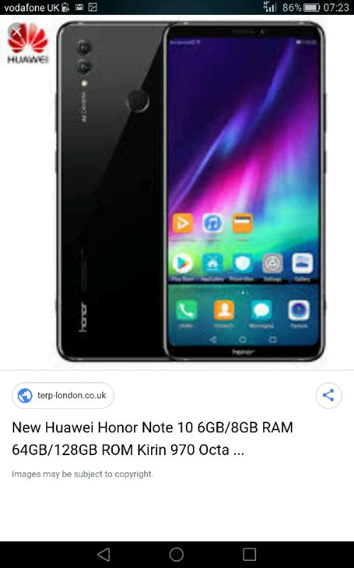 Huawei honor note 10 64GB 6 95