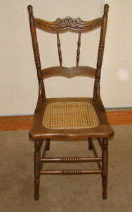 Wooden antique Press back Chair