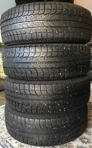 Looking for a set? 225/65R17 Michelin Latitude X-Ice 102T Winter used for only $360!!!