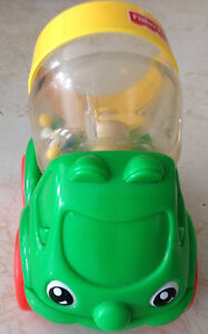 1999 FISHER PRICE # 71333 HAPPY CEMENT MIXER GREEN RATTLE Gatineau Ottawa / Gatineau Area image 3