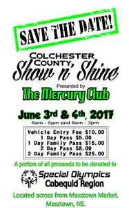 Colchester County Show N' Shine