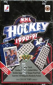 1990-91 UPPER DECK - HIGH SERIES - BOX - possible PAVEL BURE RC
