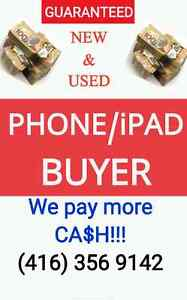 CELLPHONE BUYER GUARANTEED TOP CASH FOR YOUR NEW USED PHONE IPAD