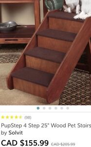 Pet Stairs for Tall Bed