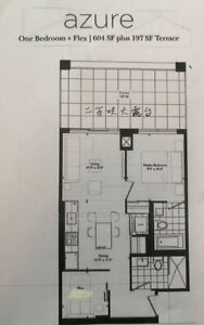 ** 1+1 Brand New Luxury Condo For Lease next to Fairview Mall **