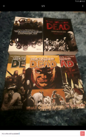Walking dead comics. Make me an offer