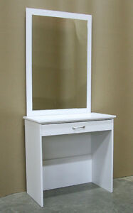 White Vanity Make Up Dressing Table Set **Brand New**