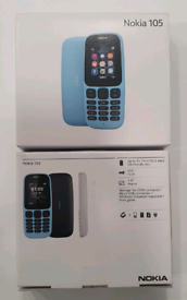 Unlocked Brand New Nokia 105 Open To All Networks Work Any Sim Card
