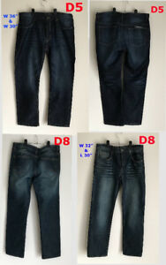Assorted Jeans & Pants. Mainly New & Some Used. Assorted Sizes