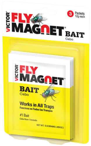 Safer Brand Victor M383 Fly Magnet Bait 3 per pack (2 Pack)