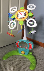 Fisher Price Crib to Floor Mobile - like new