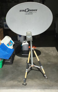 Shaw satellite dish and accessories