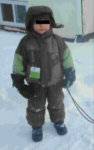 Habite de neige 3an - Garcon// Winter Suite, Boy Sourris Mini 3