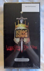 King Down Kickstarter board game with expansions BRAND NEW